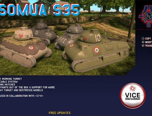 New Release: The SOMUA S35