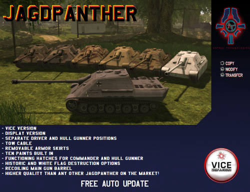 New Release: The Jagdpanther