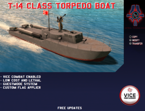 New Release: T-14 Class Torpedo Boat